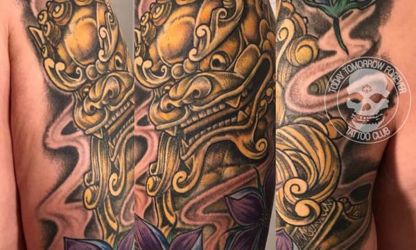 Tattoo Studio Today Tomorrow Forever - Tätowierung chinesischer Drache.