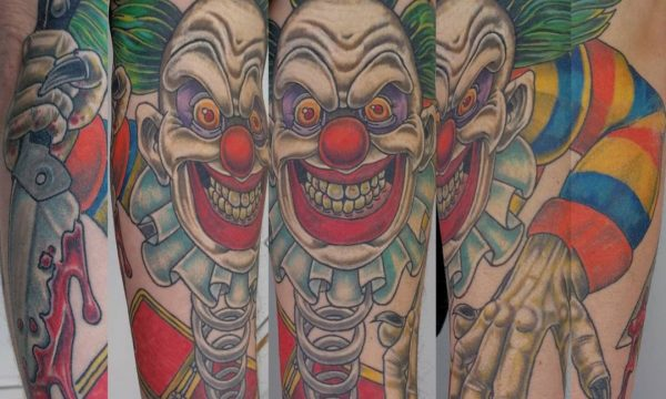 Tattoo Studio Today Tomorrow Forever - Tattoo - Clown.