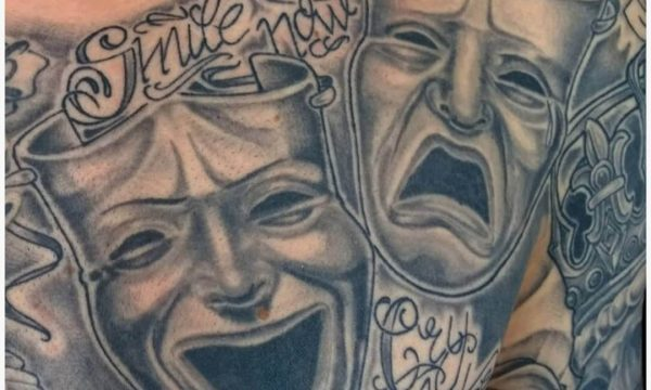 Masken-Tattoo-Today-Tomorrow-Forever